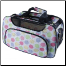 Designer Polka Dots Dog Travel Tote Bag
