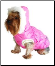 Designer QPet Dog Bubble Jacket