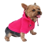 Hot Pink Dog Pullover Sweater