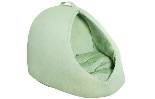 Designer Dome Dog Bed -green