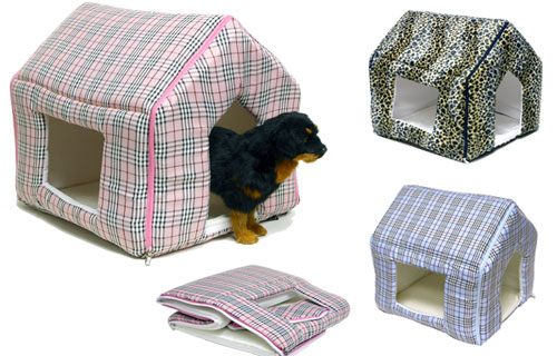Designer indoor dog house/bed
