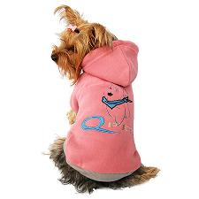 Dog pink sweater