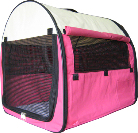 Medium dog crate/tent hot pink  sc 1 st  Dog Beds Galore & Designer Portable Dog Tent/Dog Home/DogCrate/Dog House