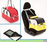 3 in 1 cat dog stroller carrier bag and dog car seat