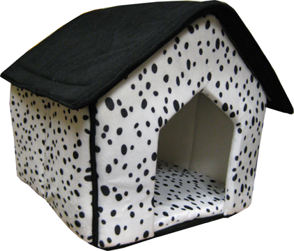 Designer cozy collapsible dog house