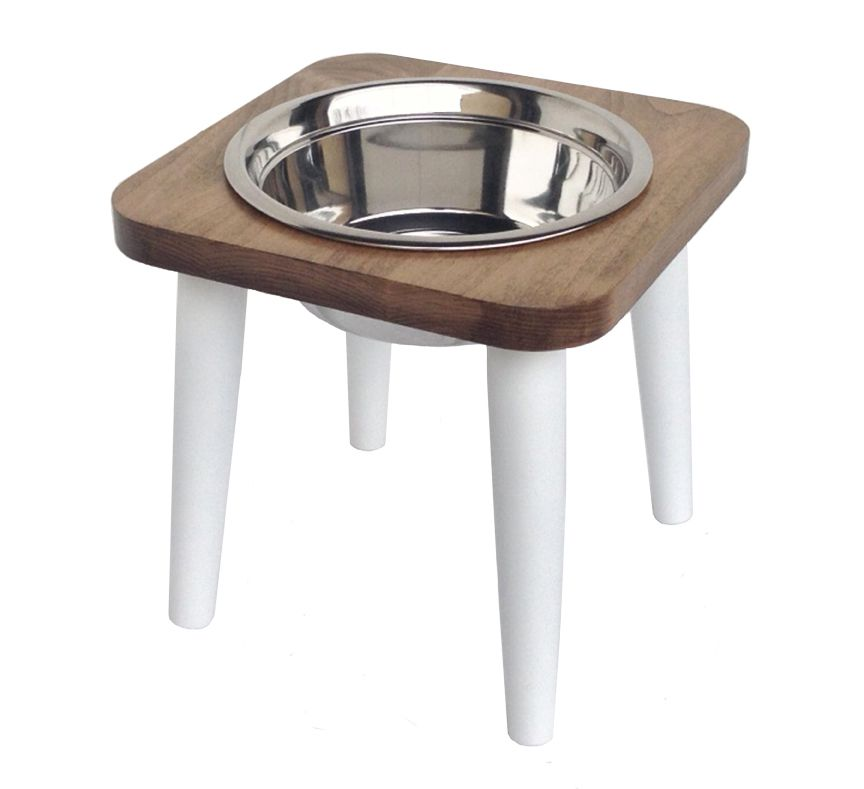 and decor bowl most custom the bowls stands single stand small dog for feeder intended raised