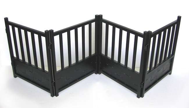 Weave Metal Dog Gate