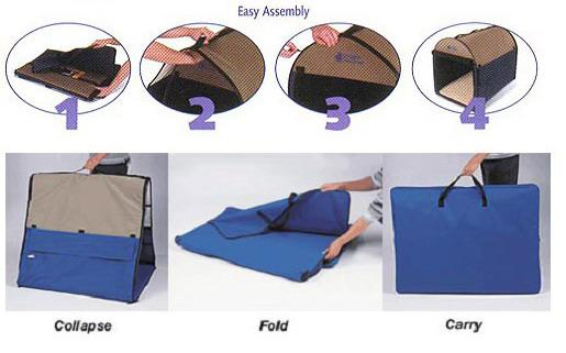 steps to assemble your dog tent/dog crate  sc 1 st  Dog Beds Galore : dog kennel tent - memphite.com