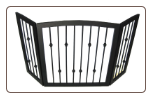 Extra Wide Freestanding Dog Gate