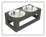 Porchside Indoor/Outdoor Dog Double Diner