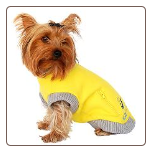 Dog Zipper Sweat Shirt
