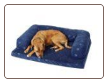 Beasley's Couch/Designer Foam Dog Bed (Poly-Suede w/Berber)