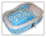 Designer Silky Fluff Dog Bed