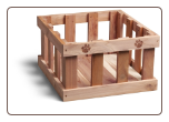 Cedar Pet Toy Box