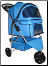 Classic 3 wheel Dog Cat Stroller Carrier