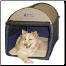 Designer Portable Dog Tent/Dog Home/DogCrate/Dog House