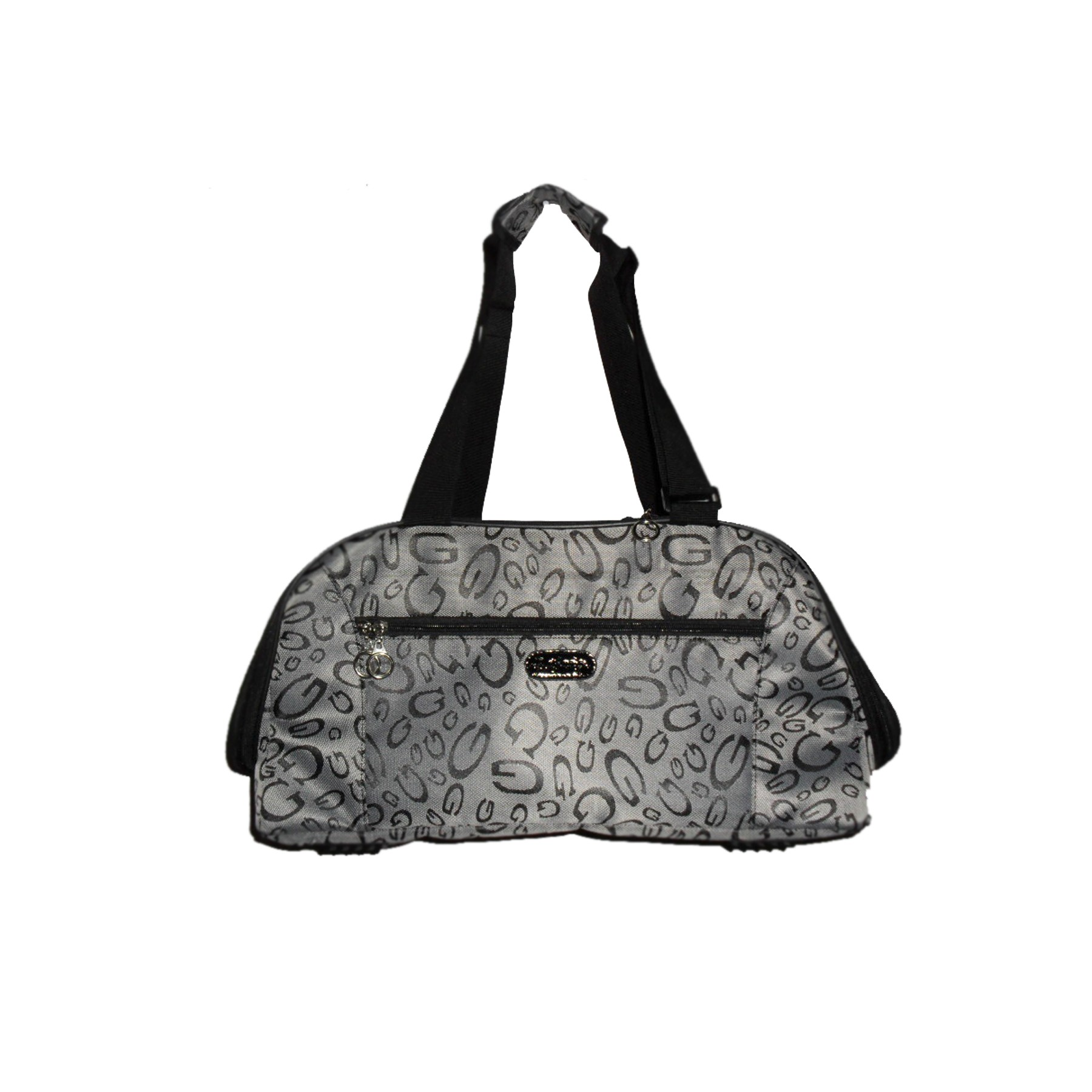 Designer Dog travel shoulder bag - G-Print