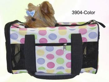 Dog travel color bag
