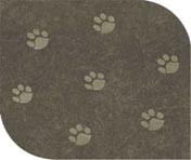 Poly Suede sage fabric for rectangular dog bed