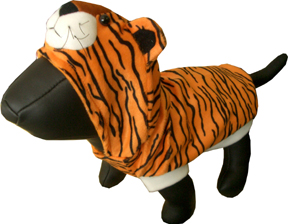 Tiger dress costume for dog/pet