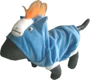 Blue Horse dress costume for dog/pet