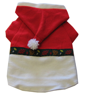Santa Claus Xmas Dog Costume