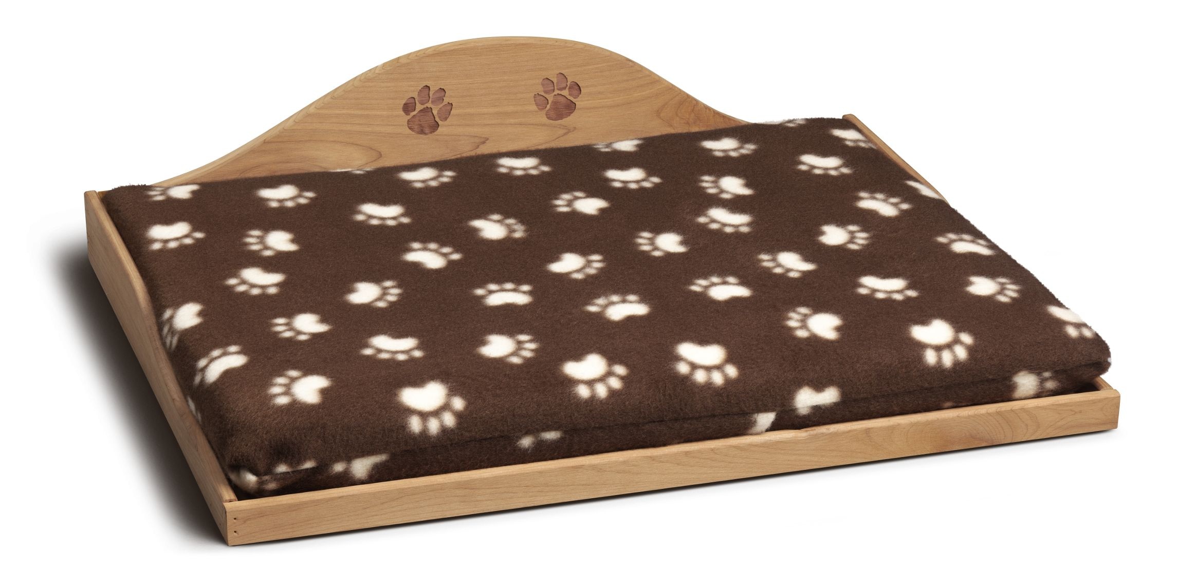 Cedar Pet Bed Brown
