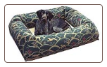 Bingo's Box Designer Bolster Orthopedic Dog Bed