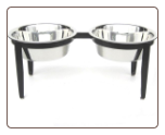 Vision Indoor/Outdoor Dog Double Diner