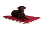 Great Paw Double-Sided Fleece Dog Bed